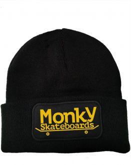 Beanie negro Monkysb