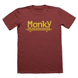 Monky logo granate