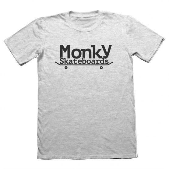 Monky logo gris