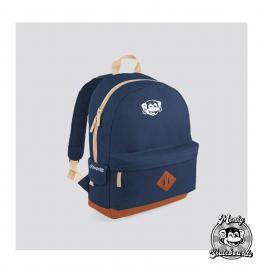 mochila back school azul
